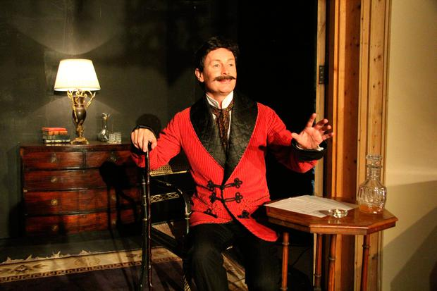 Niall Morris in his new production as Puccini