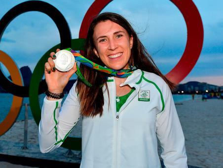 Annalise Murphy found redemption and glory in Rio. Photo: Brendan Moran/Sportsfile