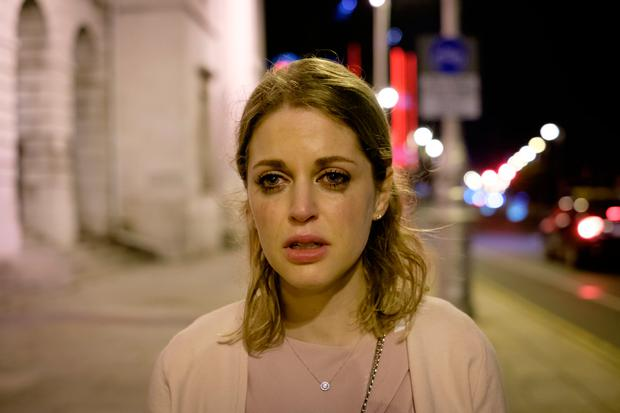 Actress Amy Huberman is taking on her grittiest role to date in RTE's Striking Out. Picture: Conor Horgan