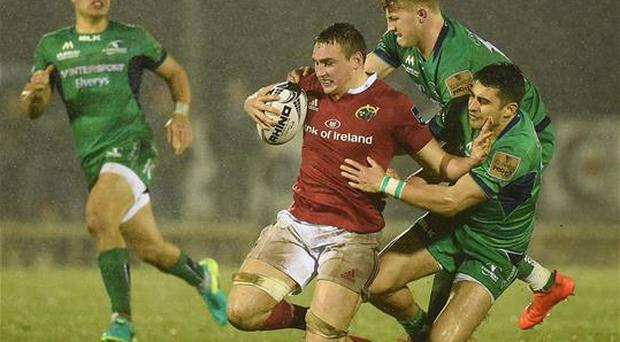 Tommy O'Donnell returns to the Munster starting team against Racing 92