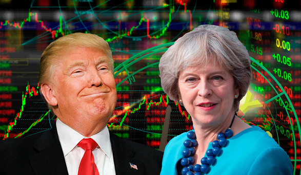 FOLLOW THE MONEY: The markets are wagering that Trump and May will betray poorer voters
