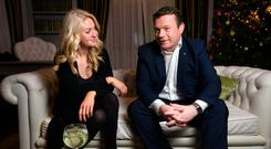 Second time around: The Sunday Independent's Niamh Horan and Labour TD Alan Kelly meet again Photo: Tony Gavin