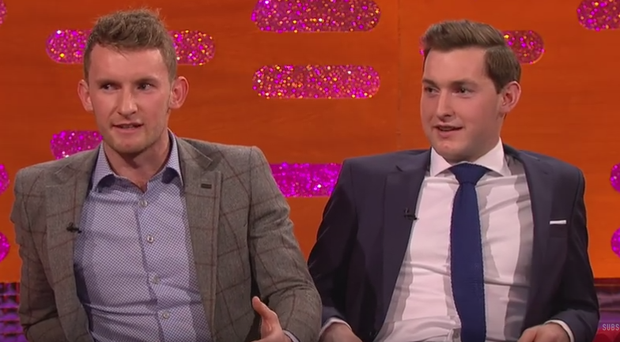 Paul and Gary O'Donovan on The Graham Norton Show. Image: BBC/YouTube