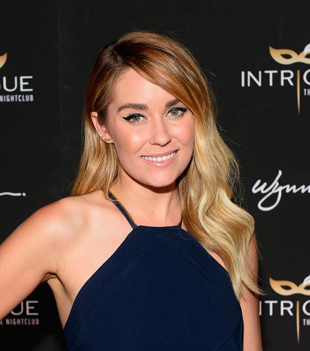 Television personality and fashion designer Lauren Conrad arrives at the grand opening of Intrigue Nightclub at Wynn Las Vegas on April 29, 2016 in Las Vegas, Nevada. (Photo by Bryan Steffy/Getty Images for Wynn Las Vegas)