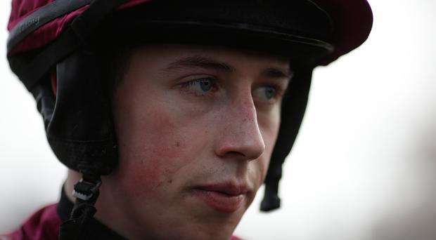 Jockey Bryan Cooper will be sidelined for up to eight weeks thanks to a pelvic injury. Photo: Alan Crowhurst/Getty Images
