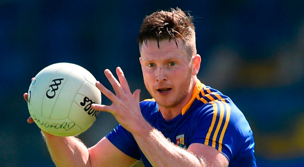 Michael Quinn of Longford had the quickest conversion to the AFL, lining out for Essendon's senior team within five months of his arrival.. Photo: Ramsey Cardy/Sportsfile