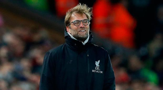 """Klopp: """"I know there is some criticism of their defending but Manchester City play some of the best football in the world. You have to defend against it and we did."""" Photo credit: Martin Rickett/PA Wire"""
