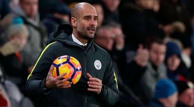 The adaptation to English football is proving more complicated than Guardiola imagined. Photo: Reuters / Scott Heppell