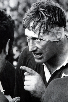 Willie John McBride, pictured during the Lions' first Test against New Zealand in 1971, knows the competition to make the team – the biggest moment of a player's career.