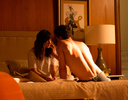 Dakota Johnson and Jamie Dornan in 'Fifty Shades of Grey', an ideal guide for any prospective Ministry of Sex