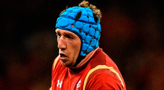 A try from Welsh flanker Justin Tipuric helped the Ospreys start 2017 with a victory. Photo: Ramsey Cardy/Sportsfile