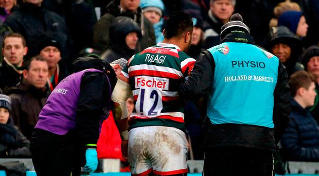 Leicester Tigers' Manu Tuilagi won't play again this season