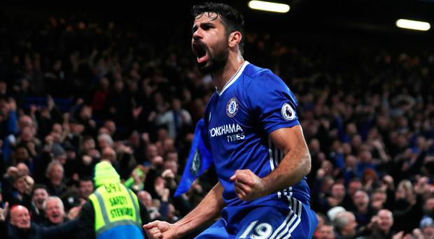 Costa: In superb form. Photo: Reuters / Eddie Keogh