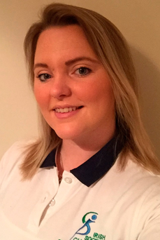 Chartered physiotherapist Jennifer Daly