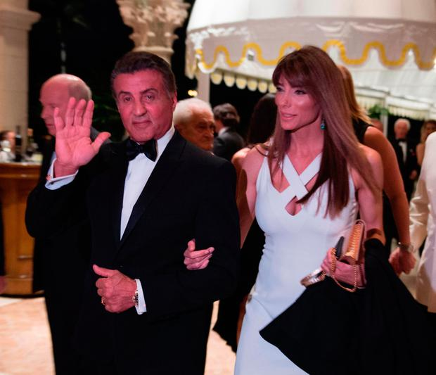 Sylvester Stallone arrives. Photo: Getty Images