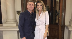 Pippa O'Connor and husband Brian Ormond. Image: Instagram