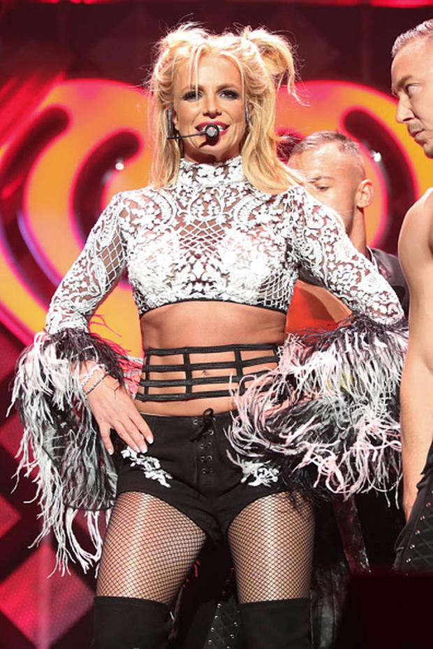 Singer Britney Spears performs at the 102.7 KIIS FM's Jingle Ball 2016 on December 02, 2016 in Los Angeles, California. (Photo by Christopher Polk/Getty Images for iHeartMedia)
