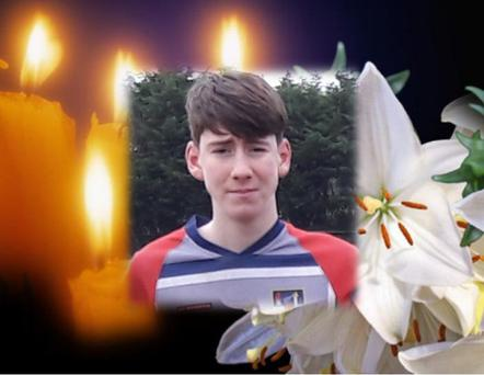 Ben Murray (13) who died suddenly on NYE Source: MRFC Twitter