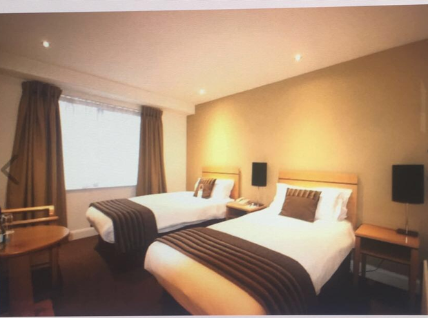 The hotel room advertised for sale Source: Daft.ie