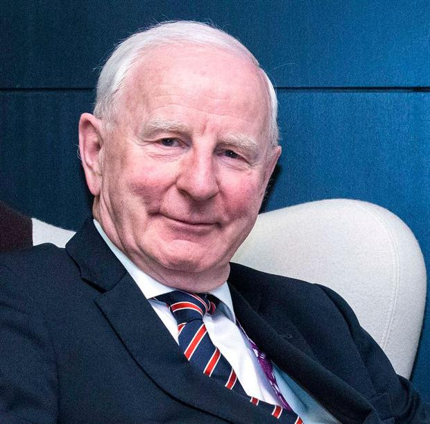 Pat Hickey. Photo: Jack Guez/AFP/Getty Images