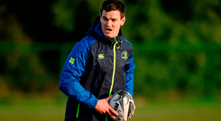 Jonathan Sexton is back for Leinster