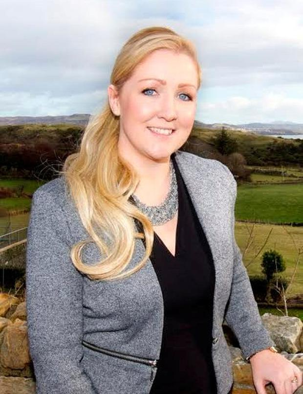Carolynne Harrison, the manager of the four-star Shandon Hotel, where business is booming
