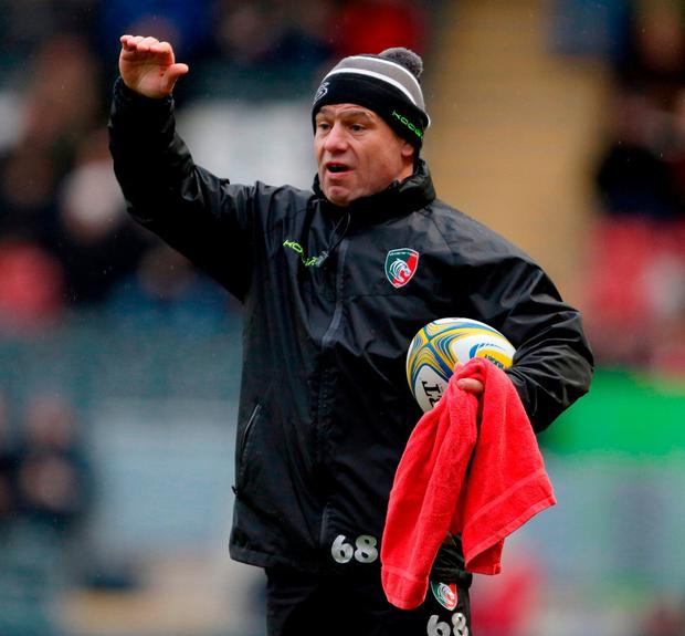 Former Leicester Tigers Director of Rugby Richard Cockerill. Photo: Richard Sellers/PA Wire