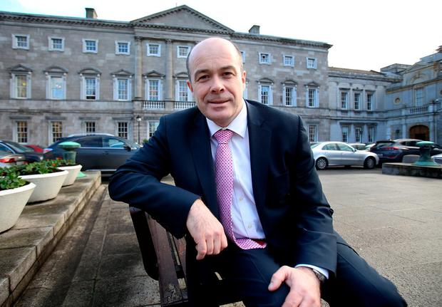 Denis Naughten is still in hospital undergoing tests and X-rays. Photo: Tom Burke