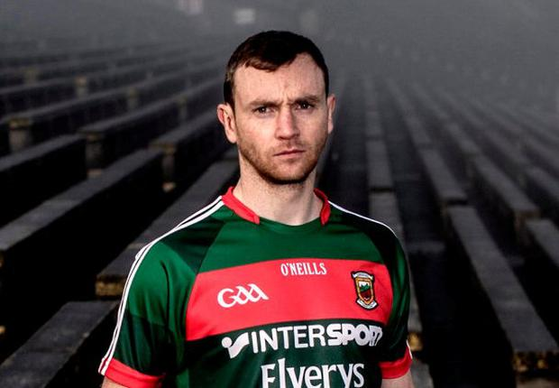 Mayo footballer Keith Higgins. Photo: James Crombie/INPHO