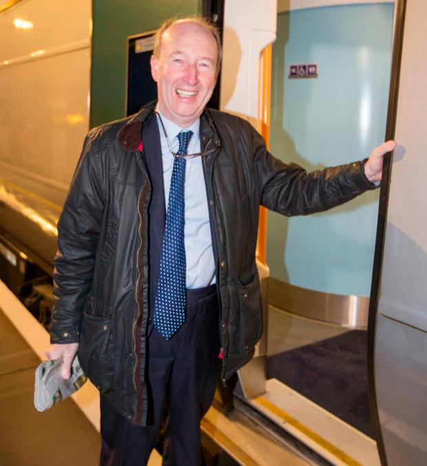 Shane Ross infamously called the transport element of his ministerial portfolio 'a doddle'. Photo: Colin O'Riordan