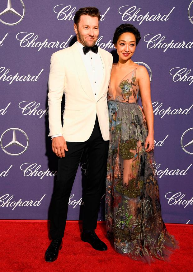 Actors Joel Edgerton and Ruth Negga attend the 28th Annual Palm Springs International Film Festival Film Awards Gala at the Palm Springs Convention Center on January 2, 2017 in Palm Springs, California. (Photo by Frazer Harrison/Getty Images )