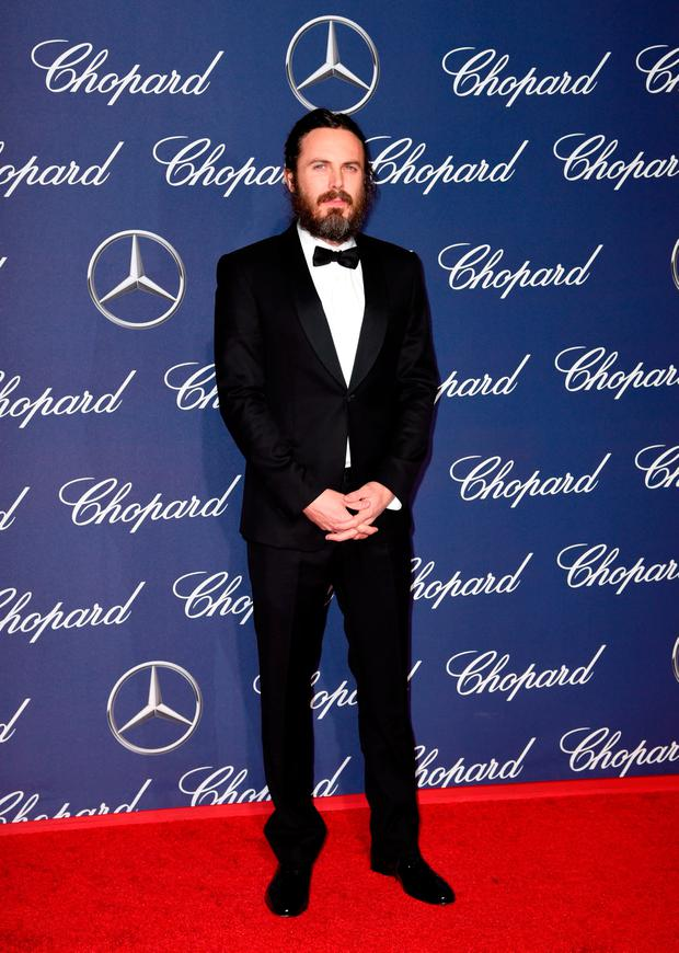 Actor Casey Affleck attends the 28th Annual Palm Springs International Film Festival Film Awards Gala at the Palm Springs Convention Center on January 2, 2017 in Palm Springs, California. (Photo by Emma McIntyre/Getty Images)