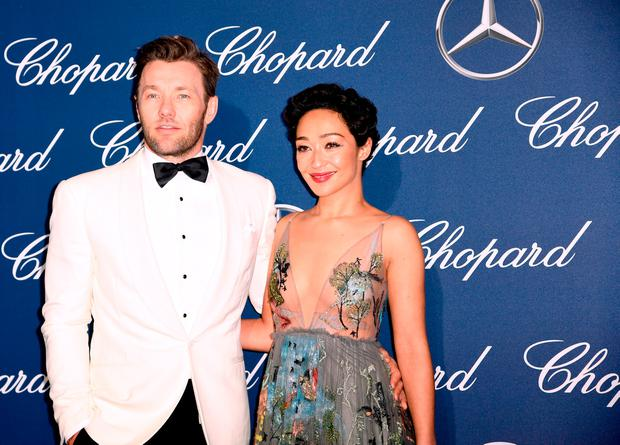 Actors Joel Edgerton (L) and Ruth Negga attend the 28th Annual Palm Springs International Film Festival Film Awards Gala at the Palm Springs Convention Center on January 2, 2017 in Palm Springs, California. (Photo by Emma McIntyre/Getty Images)