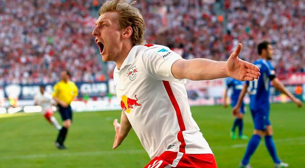 Forsberg has been involved in 13 goals for RB Leipzig this season Bongarts/Getty Images