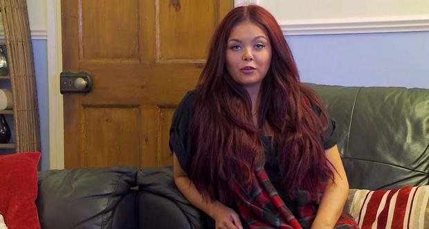 Scarlett Moffatt on Gogglebox in 2016