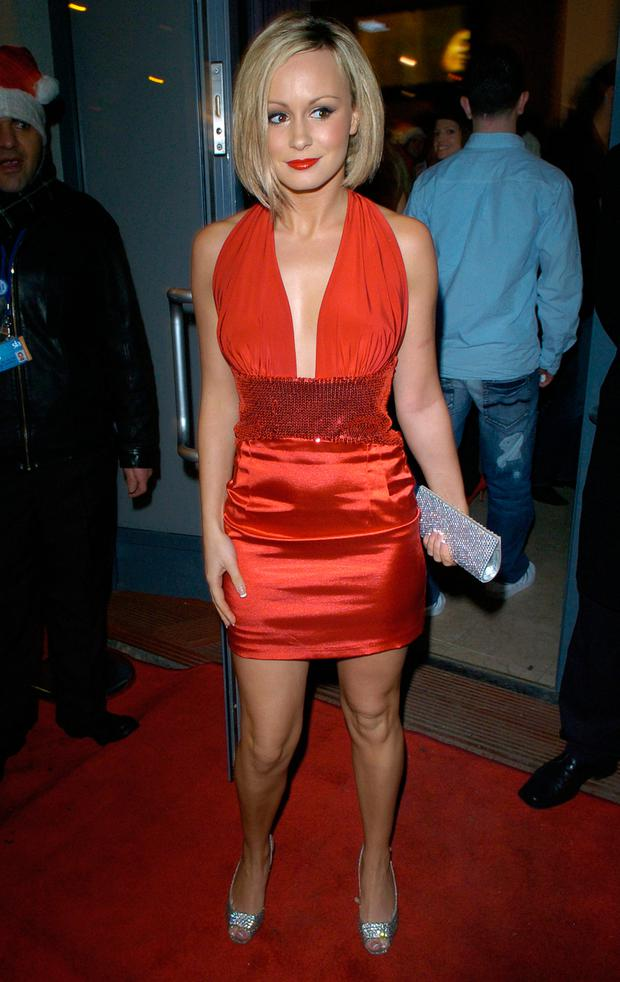 Chanelle Hayes attends the OK! Magazine Christmas party at the Surya Centre Health Spa on December 13, 2007 in London, England. (Photo by Stuart Wilson/Getty Images)