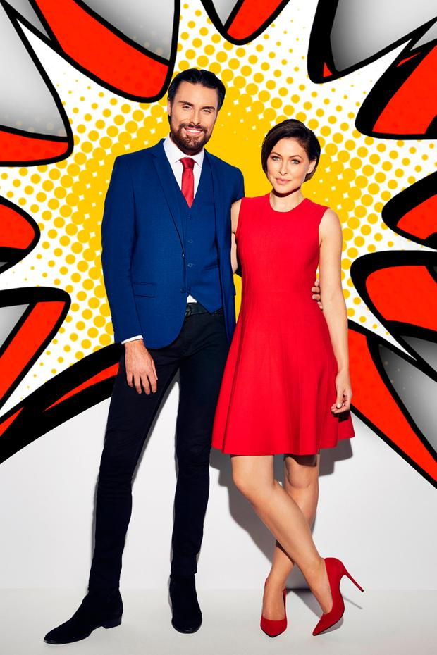 Rylan Clark-Neal and Emma Willis host Big Brother on Channel 5