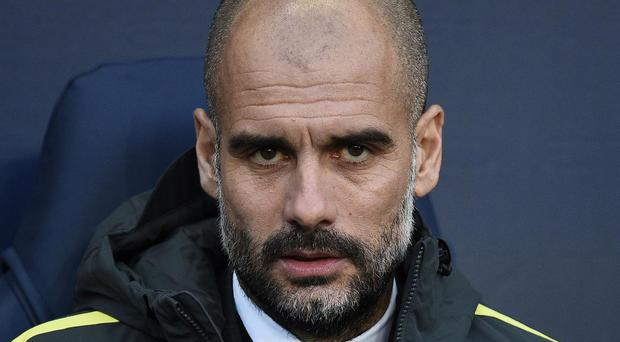 Guardiola appeared disgruntled after Monday's win over Burnley. Getty