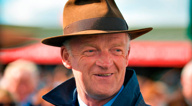 Willie Mullins has two other possibles in American Tom and Royal Caviar. Picture credit: Cody Glenn / SPORTSFILE