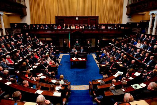 Independent TD Mattie McGrath has said he believes a block on mobile phone signal in the chamber would be a step too far. Photo: Maxwell's
