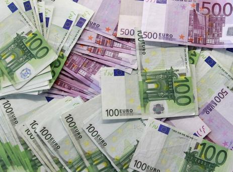 In January last year, the NTMA raised €3bn through a syndicated sale of 10-year bond debt at a yield of 1.156pc. That was the third year in a row the agency ran a sale on January 7. Photo: Reuters
