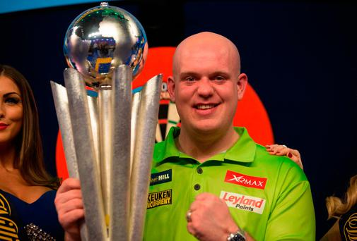 Michael van Gerwen sets record as he reaches World Darts Championship final