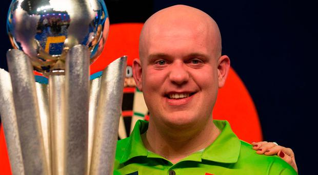 Michael van Gerwen. Photo: Getty Images