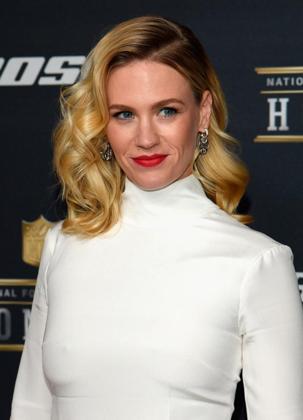Actress January Jones attends the 5th Annual NFL Honors at Bill Graham Civic Auditorium on February 6, 2016 in San Francisco, California. (Photo by Tim Mosenfelder/Getty Images)