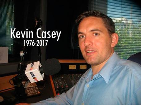 Kevin Casey. Picture: WLRFM