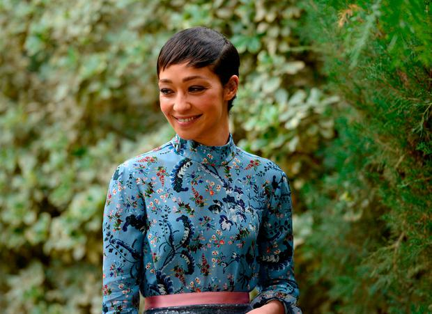 Actress Ruth Negga attends Variety's Creative Impact Awards and 10 Directors to Watch Brunch presented by Mercedes-Benz at the 28th Annual Palm Springs International Film Festival at Parker Palm Springs on January 3, 2017 in Palm Springs, California. (Photo by Vivien Killilea/Getty Images for Palm Springs International Film Festival )