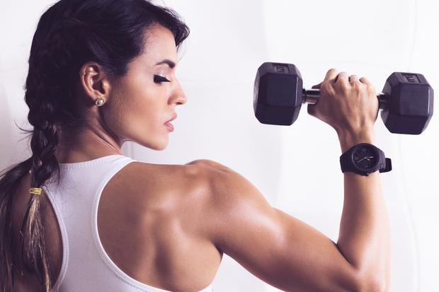 You don't necessarily need to go to a hot, sweaty gym and pump as much iron as you can.