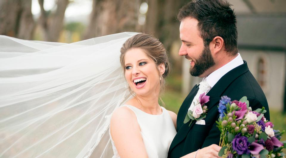 Amy and CP's wedding day. Picture: Couple Photography, visit Couple.ie