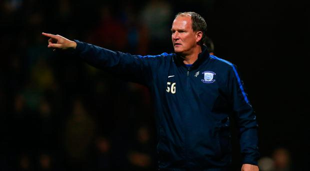 Simon Grayson will be in the dug-out when Preston face Arsenal on Saturday. Photo: Robbie Jay Barratt/AMA/Getty Images