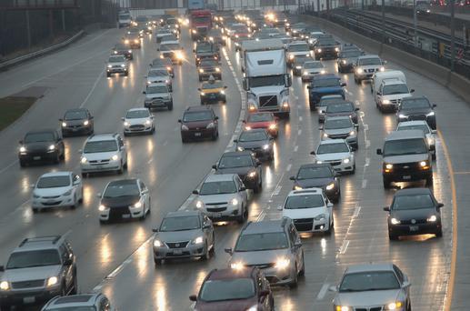 People living within 50 metres of heavy traffic had a 7pc higher risk of developing dementia